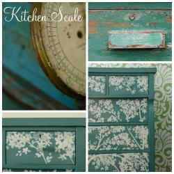Miss Mustard Seed Milk Paint Kitchen Scale