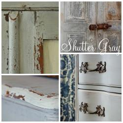 Miss Mustard Seed Milk Paint Shutter Grey