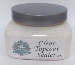 Clear Topcoat 8oz. Sample Size