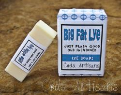 Coda Artisans- Big Fat Lye Soap