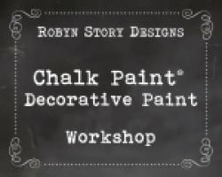 Chalk Paint® Decorative Paint 6-Hour Workshop on Thursday, March 9, 2017