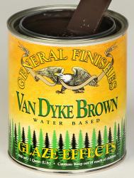 GF Van Dyke Brown Glaze Effects Pint