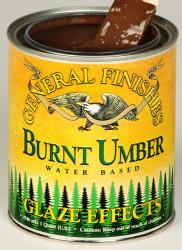 GF Burnt Umber Glaze Effects Quart