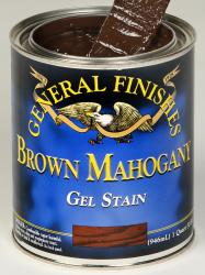 GF Brown Mahogany Gel Stain Quart