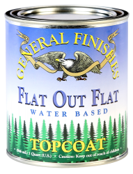 GF Flat Out Flat Topcoat Quart